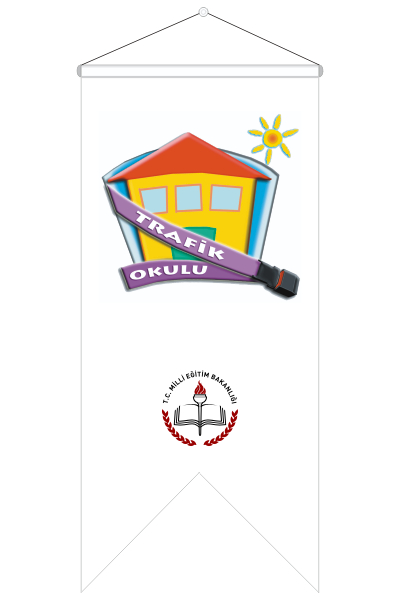 MEB Trafik Okulu Kırlangıç Flaması
