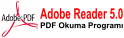 Adobe Reader 5.0 �ndirmek i�in t�klay�n�z