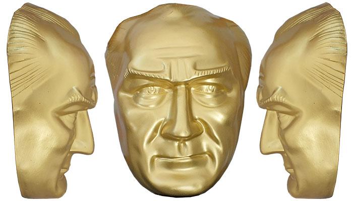 40 cm Fiberglass Atatürk Maskı