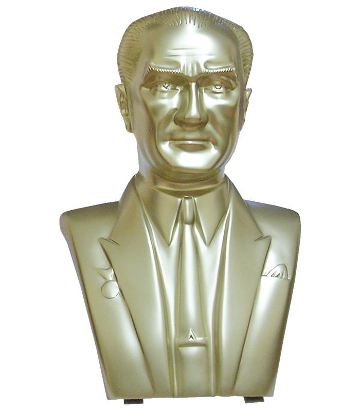 70 cm Fiberglass Atatürk Büstü