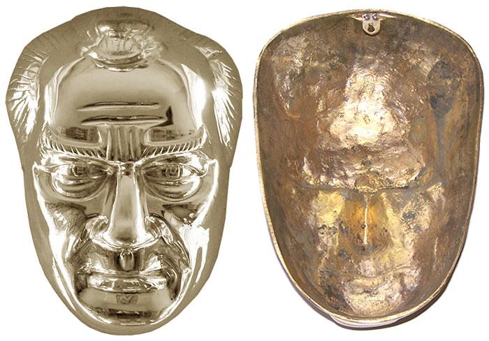 40 cm Pirinç Atatürk Maskı