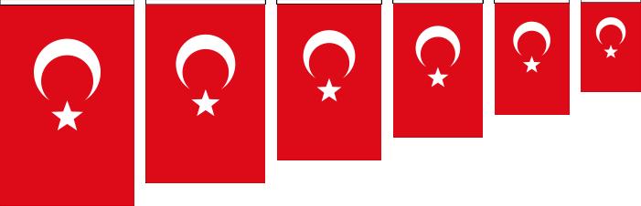 Her Ebatta Türk Bayrağı İmalatı ve Satışı - Toptan ve Perakende